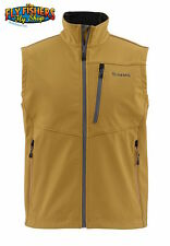 Simms WINDSTOPPER Vest - Honey Brown - XL - NEW - DISCOUNTED