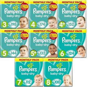Pampers Dry Monthly Pack