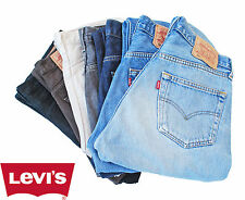 GRADE A! VINTAGE LEVIS 501 JEANS Button Fly ALL SIZES Denim Men's 501s