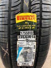 1 New 235 60 18 Pirelli Scorpion Zero A Tire