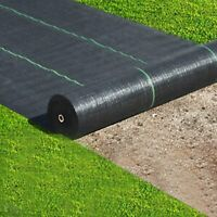 6FTx250FT Weed Barrier Fabric Woven Earthmat Ground Cover Landscape Heavy-Duty