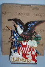 Jim Shore #6001085 Long Live Liberty Stars & Stripes Forever Eagle Flag Musical