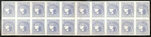 Ukraine 1918 National Republic 30 Shahiv  Mint No Hinge Block of 20