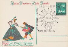 Poland postmark BRANIEWO - stagecoach post COPERNICUS