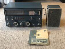 Vintage National Model Nc-190 Shortwave Ham Receiver Tube Radio Read Desc