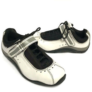 Specialized Sonoma Road Cycling Biking Shoes Womens Sz 8.5 39 White Black Gray