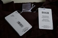 """WOLFORD PURE Seamless TOP JAVA """" BROWN""""  SIZE Large New AUTHENTIC"""