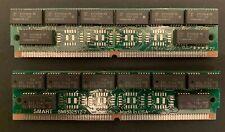 2x 2MB 72 Pin SIMM mit je 16x 81C4256A-70 FPM DRAM, 70 ns, ungepuffert