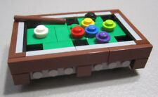 Lego Pool Table & Pool Cue Holder (85 Pieces)