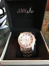 JBW Mens Krypton Stainless Steel Watch