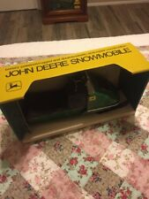 Vintage John Deere Snowmobile Battery Operated Toy Rare! Normatt Toys USA Box