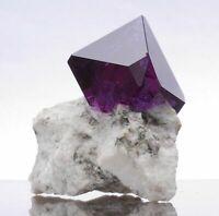 Alaun Kristall Cluster lila wie Fluorit Alun Alunit