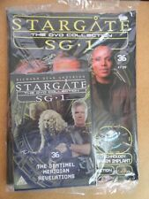 DVD COLLECTION STARGATE SG 1 PART 36 + MAGAZINE - NEW SEALED IN ORIGINAL WRAPPER