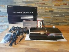 Rare Console Sony PlayStation 3 Fat (60Gb) HDD 1To Jap (NTSC-J) OFW 3.55