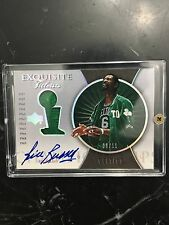 BILL RUSSELL AUTO AUTOGRAPH EXQUISITE TITLEISTS # 8/11 Rare 1OF1 1/1