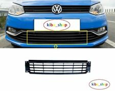 VW POLO 6R 6C 14- FRONT BUMPER LOWER GRILLE CHROME CENTER