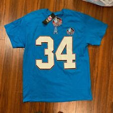 Earl Campbell Houston Oilers Hall of Fame T-shirt Jersey Size Medium; NFL