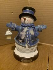 New ListingThomas Kinkade Winter Wonderland Victorian Christmas Snowman (2004) Bradford 1st