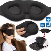 JN_ Travel Sleep Eye Mask 3D Memory Foam Padded Cover Sleeping Blindfold Optim