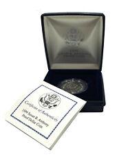 1$ Dollar 1999P United States Susan B Anthony Coin Original Box + Cert. # 207