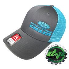Ford Powerstroke trucker hat richardson Charcoal Gray Blue mesh flex fit sm/md