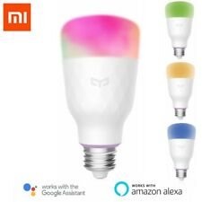 xiaomi yeelight WIFI Smart clair Ampoule LED 10W RGBW E27 POUR AMAZONE Alexa