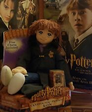 NEW IN BOX Harry Potter Gryffindor Friends RON 88658 Plush Doll & Charm