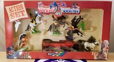 BRITAINS WILD WEST ACTION SET NEW SEALED #2 EXCELLENT SHAPE VINTAGE