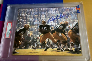 Bart Starr Signed 8x10 Color Photo - PSA/DNA Certified - PACKERS - BEAUTY !!