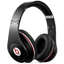 Beats by Dr. Dre Studio Black Wired Over Ear Headphones 4H6G2AM/A