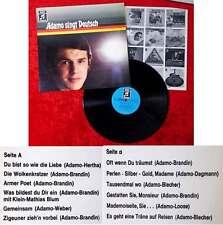 LP Adamo singt deutsch (Columbia 1C 062-23 056) D