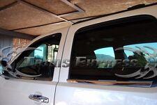 2007-2013 Chevy Silverado/GMC Sierra Crew Cab Window Sill Trim Stainless Steel