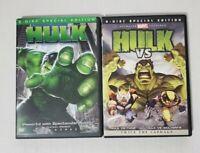 Hulk DVD and Hulk Vs. Thor / Hulk Vs. Wolverine 2-disc Special Edition DVD 2009