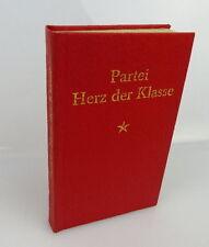 Minibuch: Partei Herz der Klasse - Claus Hammel 1. Auflage + signiert + bu0428