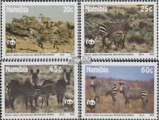 Namibia - Southwest 702-705 (complete issue) FDC 1991 Conservation
