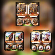 5x Pop Art Papa & 5x Mellow Lisa & 5x Painters Palette### Coin Master Cards ###