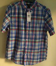 f87bc8f5bf8 Ralph Lauren Boys  100% Cotton Short Sleeve Sleeve Shirts (2-16 ...