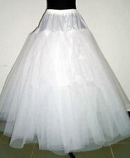 Petticoat crinoline hoopless underskirt  Wedding petticoat prom White Multilayer