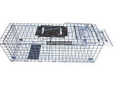 HRI-020 Rat Small Possum Trap 50cm Humane Live Trap Pest Rodent Rat Control Cage
