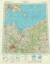 Russian Soviet Topographic Maps – sheet BERLIN (Germany) 1:1Mio., ed.1979