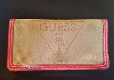 Guess Ladies Brown Red Purse Wallet