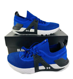 Under Armour Mens Project Rock 4 Training Shoe ROYAL BLUE Sneaker All Sizes New