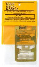 N Scale Standard Fire Escape Kit (Basic Set) - Gold Medal Models #160-3