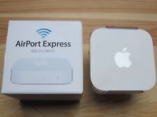 Apple AirPort Express N Router Simultanes Dualband MC414Z/A inkl. Wall Mount.