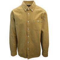 OBEY Men's Camel Brown L/S Woven Shirt (S04)