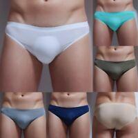 Seamless Men's Briefs Low Rise Underwear Trunks Pants Underpants Boxer Briefs