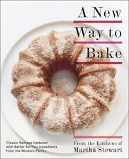 A NEW WAY TO BAKE - MARTHA STEWART LIVING (COR) - NEW PAPERBACK BOOK
