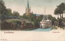 Trollhättan, Bergkanalen, Schiff, Dampfer Pallas, alte Ak um 1900, Sverige
