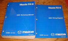 Original 2006 Mazda RX-8 Shop Service Manual + Wiring Diagram Set 06