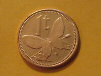 2002 Papua New Guinea  1 Toea Butterfly coin  full roll 50 coins